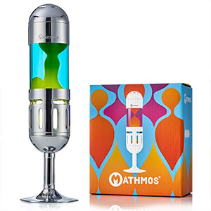 Mathmos pod candle lava lamp box