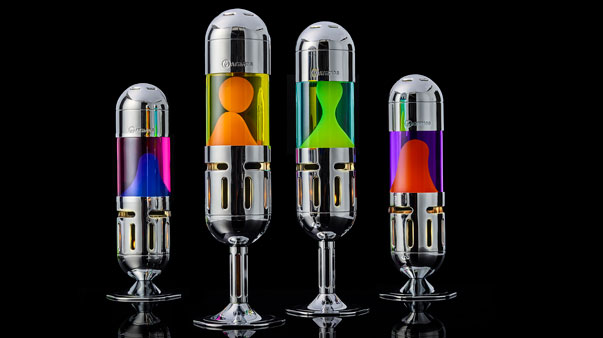 Mathmos pod candle lava lamp